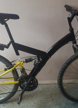 """Велосипед гірський Fischer MTB двопідвіс 26"""""""