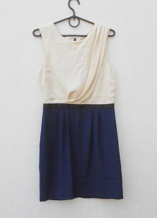 Летнее легкое платье на молнии