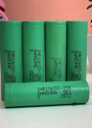 аккумулятор Samsung 18650-25R 2500 mAh