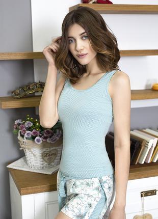 """Женская пижама (майка с шортами) из коллекции """"Tiffany"""" арт. 759"""