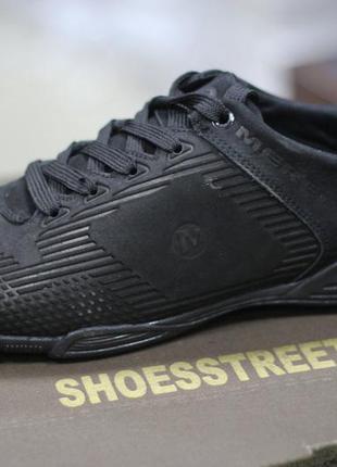 Мужские кроссовки merrell кожаные черные 43-45