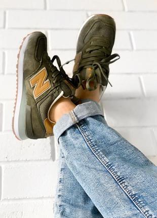 Стильные женские кроссовки new balance 574