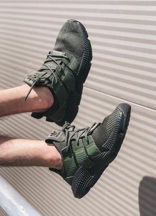 Adidas prophere olive black мужские кроссовки