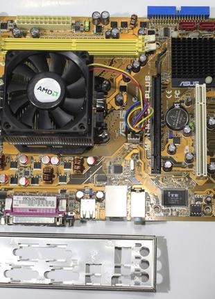 Материнская плата ASUS M2N MX SE PLUS + AMD 4200+
