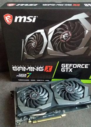 Видеокарта MSI GeForce GTX1650 GAMING X