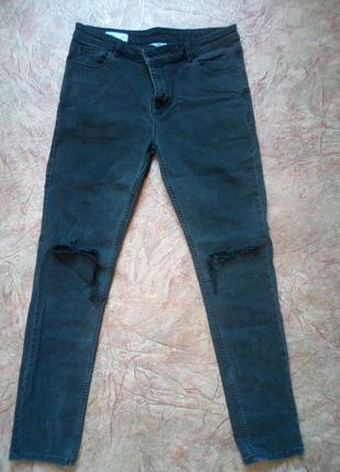 Мужские джинсы Collusion с порванными коленями