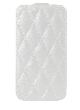 Чехол-флип Vetti LG Optimus L7 P705 Diamond s-white