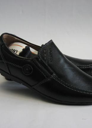 Туфли кожаные р.31-36