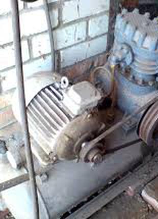 Продам компрессор б\у мощность двигателя 3 кВт