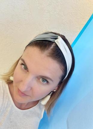 Женская летняя повязка на голову