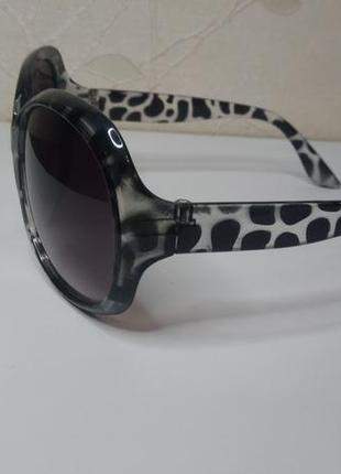 Женские солнцезащитные очки, черепаховый принт