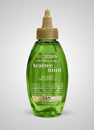 Ogx лечебное масло для кожи головы и волос с экстрактом мяты и...