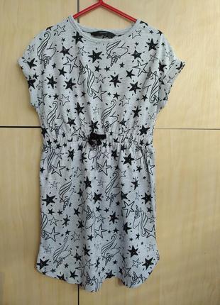 Хлопковое платье george на 6-7 лет