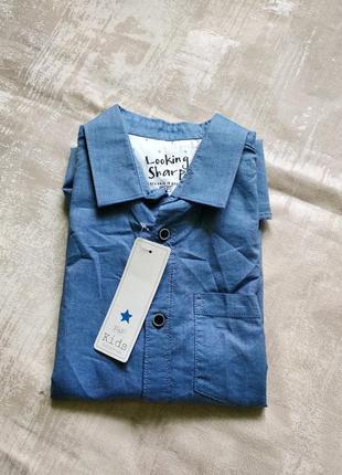 Фирменная рубашка для модного на 12-13 лет