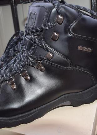 Кожаные водонепроницаемые ботинки campri р.46 uk-11 30.5 см