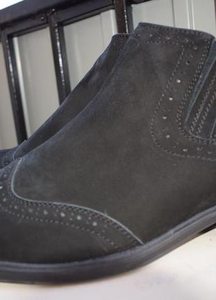 Зимние ботинки челси оксфорды  goretti р.44 на р.45 30,5 см
