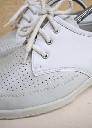 Кожаные туфли мокасины Jenny by ara Германия р.5 на р.36/37 24 см