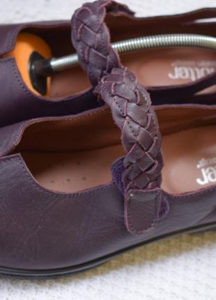 Кожаные туфли мокасины лодочки балетки Hotter р.7 р.41 26,6 см 41
