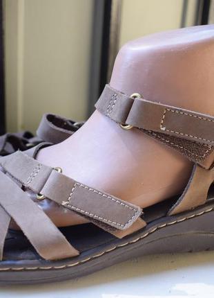 Кожаные босоножки сандали шлепанцы сандалии бразилия