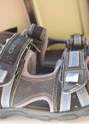 Кожаные сандалии босоножки сандали
