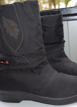 Зимние ботинки полусапоги сапоги демисезонные утепленные