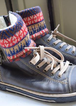 Зимние ботинки полусапоги
