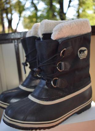 Зимние сапоги ботинки снегоходы валенок прорезиненные сорел ду...
