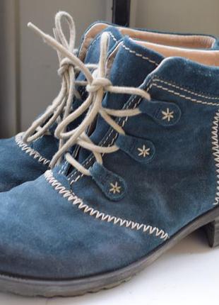 Зимние ботинки ботильоны полусапоги