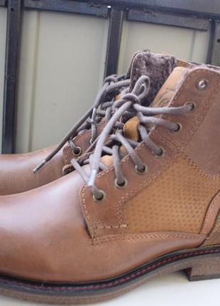 Зимние ботинки итальянские полусапоги