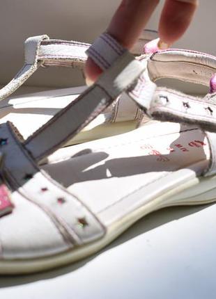 Кожаные босоножки сандали сандалии elefanten р.34 22,2 см