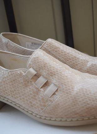 Кожаные балетки туфли лодочки р.39 26 см Jenny by Ara туфли ло...