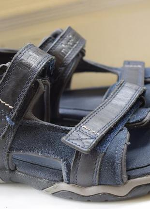 Кожаные сандалии сандали на липучках босоножки timberland р.39...