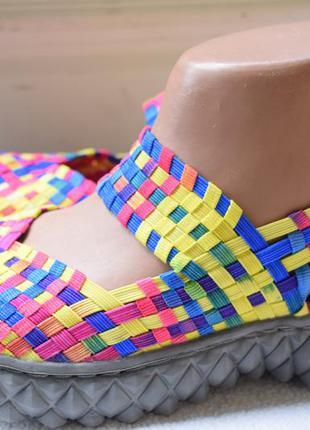 Мокасины балетки плетенка лодочки босоножки сандали р.38 24 см