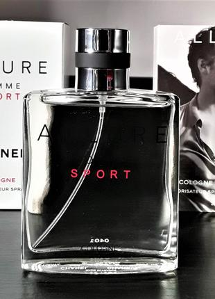 Мужские духи Chanel Allure Homme Sport Cologne 100 мл Лицензия