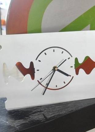 Настенные часы лезвие