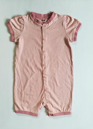 ❤️ песочник, слип-пижама 86 h&m, швеция, для малышей