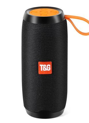 Bluetooth Колонка T&G - 10W, 1200 mАh, Блютус FM, AUX, Радио