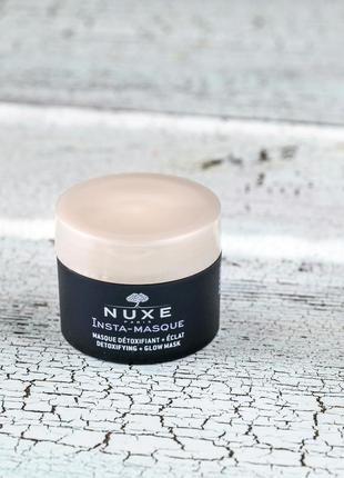 Маска для лица nuxe insta-detoxifying mask + radiance