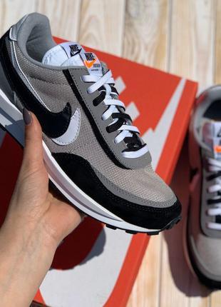 3130 Nike Air Pegasus кроссовки мужские серые замшевые ТОП кед...