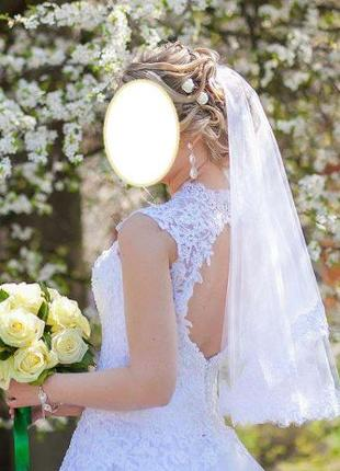 Платье свадебное кружева