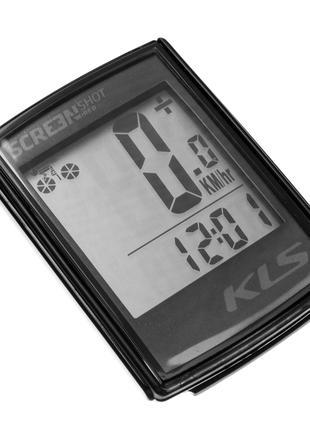 Велокомп'ютер дротовий KLS Screenshot 10 Black