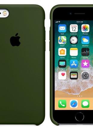 Чехол-накладка Silicone Case iCCess для Apple Iphone 7/8 Virid
