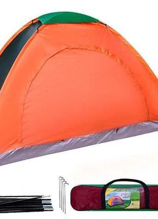 Палатка туристическая 2-4 местная,размер 200*150*110, 200*200*130
