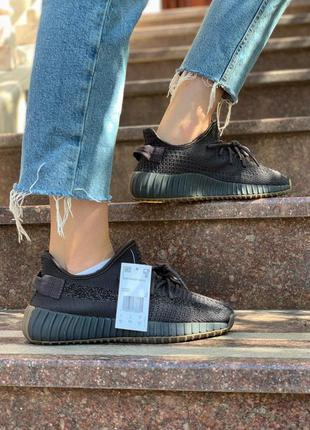 Adidas yeezy 350 reflective кроссовки адидас в черном цвете (3...