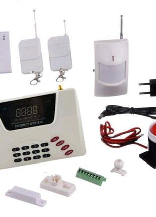 GSM сигнализация для дома с датчиком движения Alarm