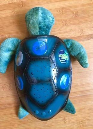 """Ночник """"Черепаха Звездное небо"""", ночная лампа для детей."""