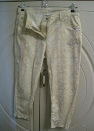 Женские удлиненные шорты штаны-капри c&a, р.50