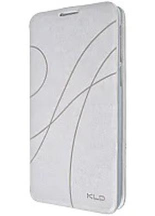 Чехол-книжка Oscar для Samsung Galaxy s939 (Белый,Коричневый)