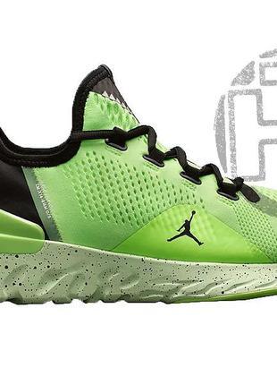 Мужские кроссовки air jordan react havoc gym green black ar881...
