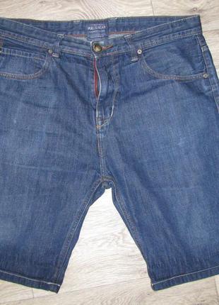 Шорты джинсовые 50-52 р. eur. 44 pull&bear